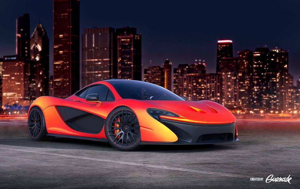 Render: McLaren P1 With ADV.1 Wheels