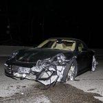 Porsche 911 crash