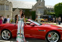Video: Playboy Playmate of the Year Receives Jaguar F-Type