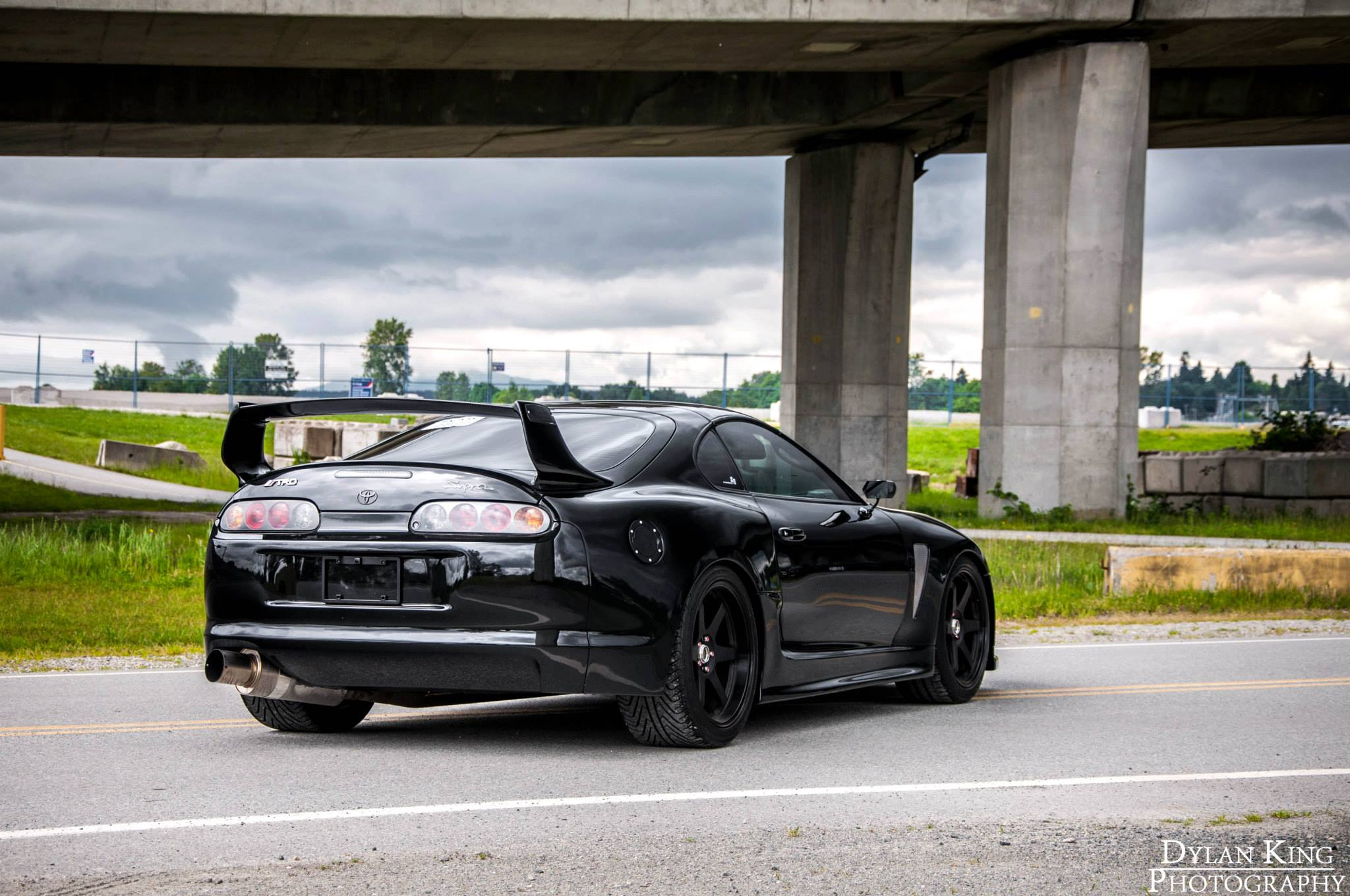 gallery 1 000hp black toyota supra gtspirit. Black Bedroom Furniture Sets. Home Design Ideas