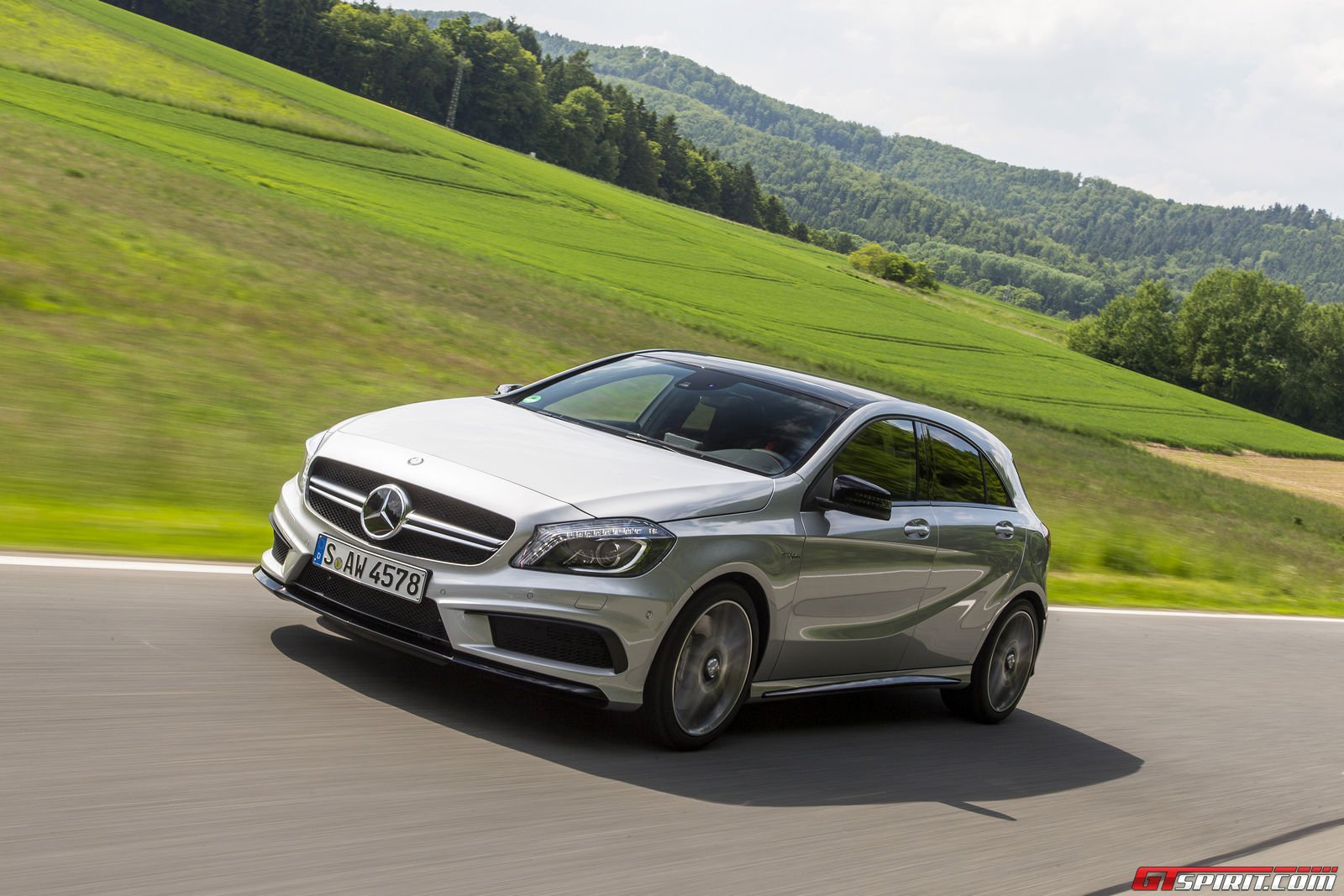 Road test 2014 mercedes benz a45 amg gtspirit for Mercedes benz a45 amg