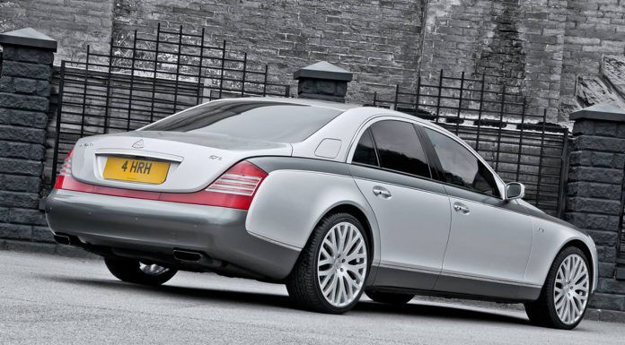 Official: Maybach 57 6.0 S Queen's 60th Coronation Special by A.Kahn Design