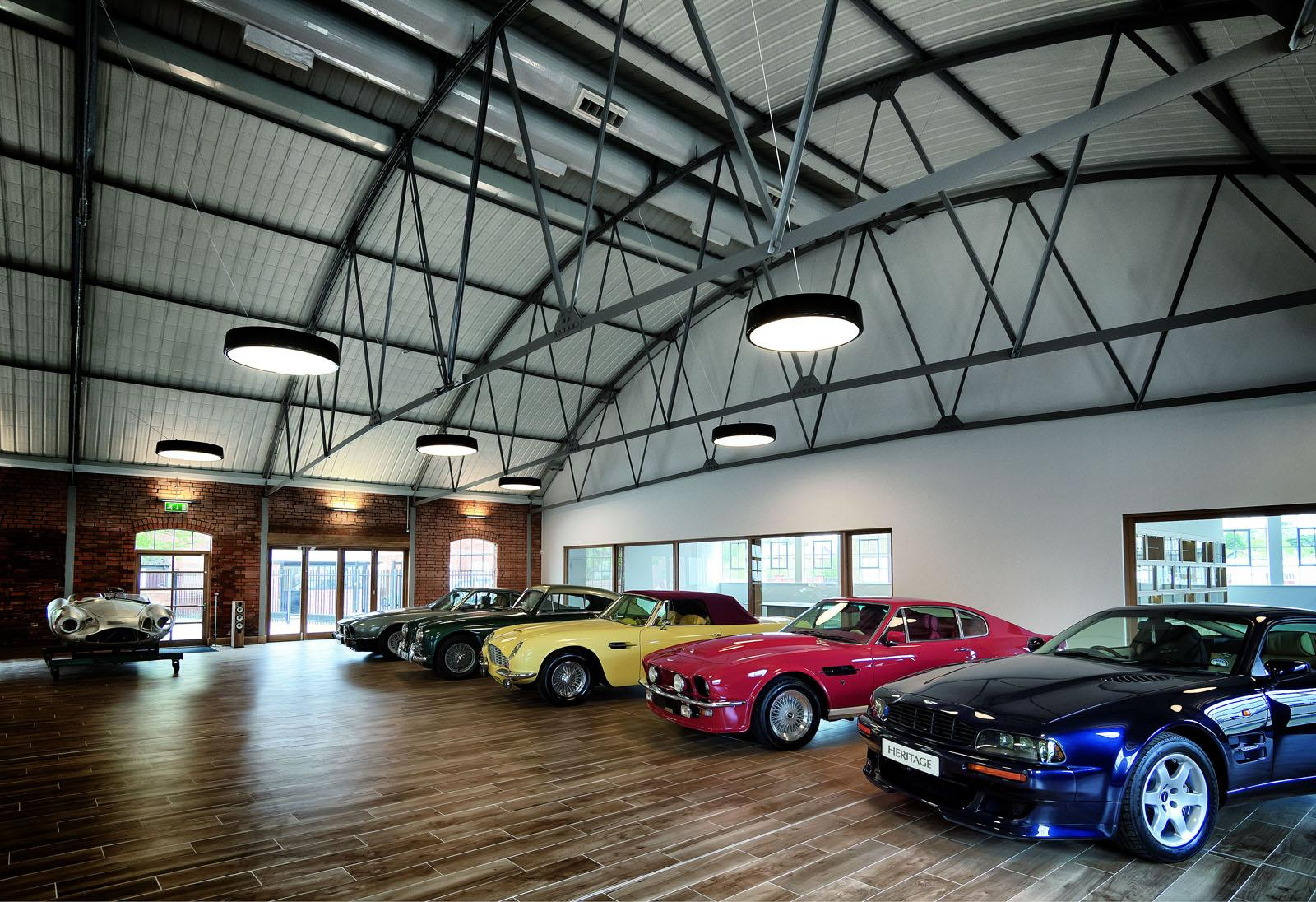 Aston Martin Launches The Heritage Showroom To Sell