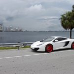 Gallery: McLaren 12C on red ADV.1 Wheels