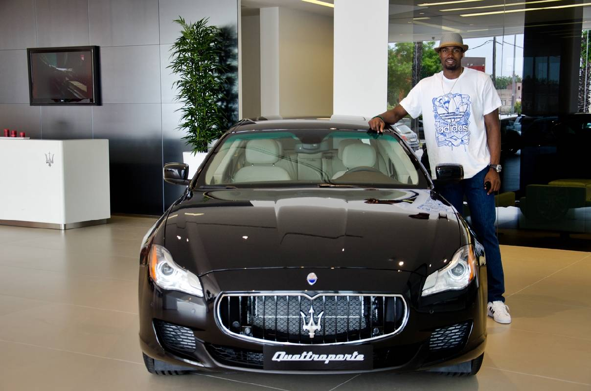 Okc Thunder Serge Ibaka Given A Maserati Quattroporte Gts