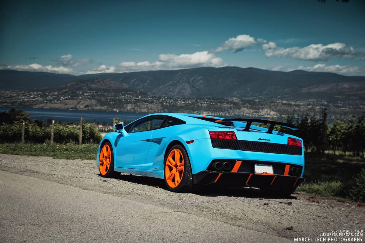 Photo Of The Day 2013 Blu Cepheus Lamborghini Gallardo Lp560 4 In