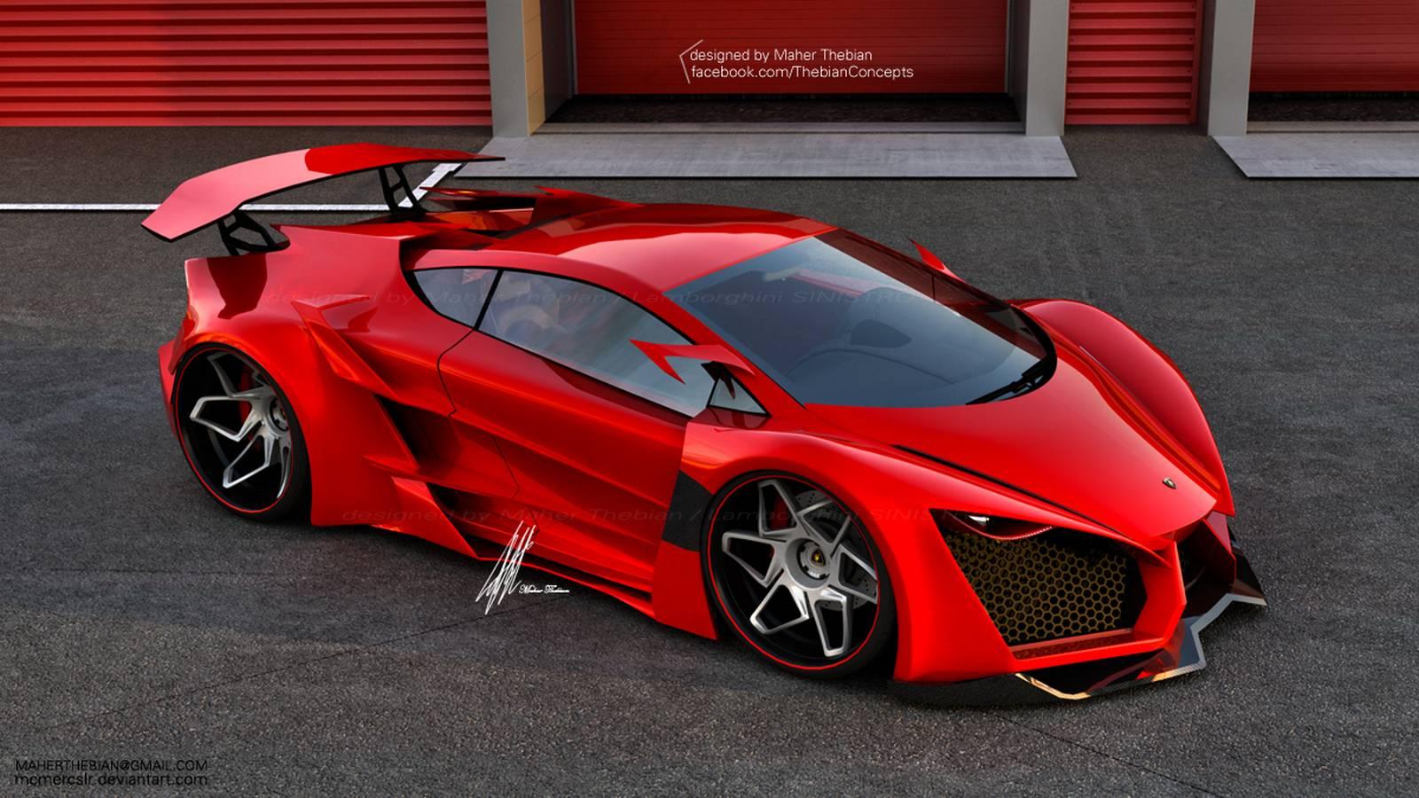 Ferrari 2016 Pret >> Render: Lamborghini Sinistro by Maher Thebian - GTspirit