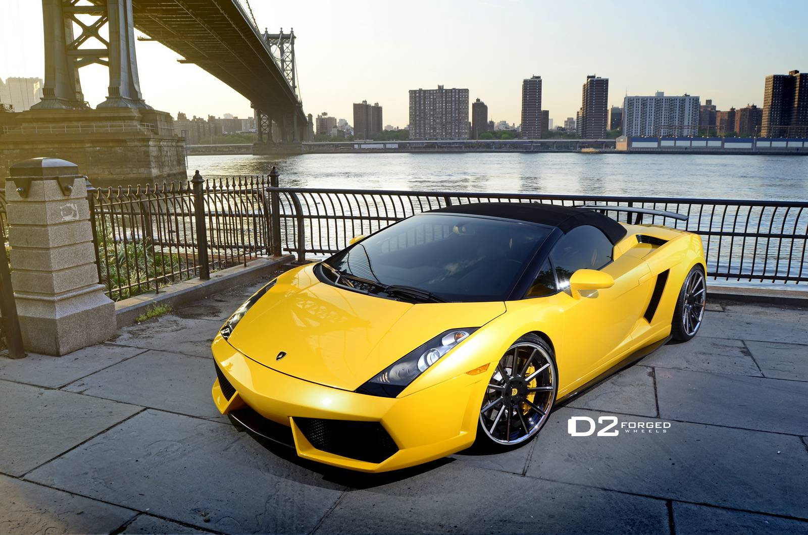 Gallery Lamborghini Gallardo Spyder On D2 Forged Wheels Gtspirit