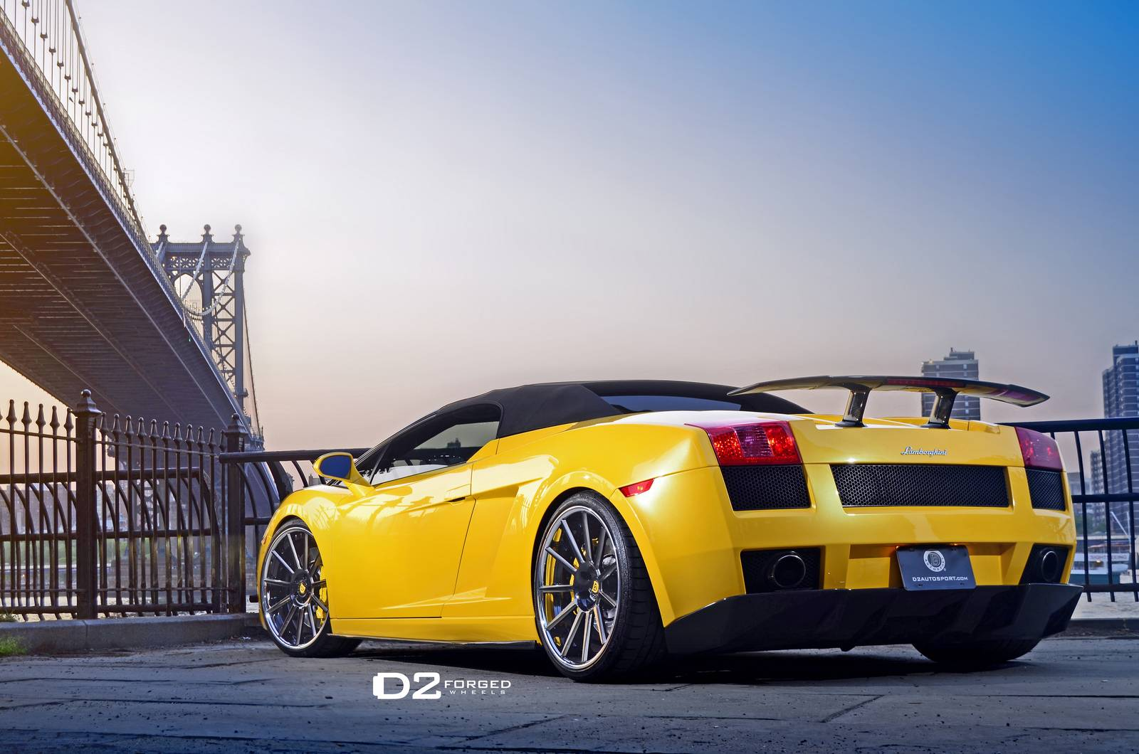 gallery  lamborghini gallardo spyder on d2 forged wheels