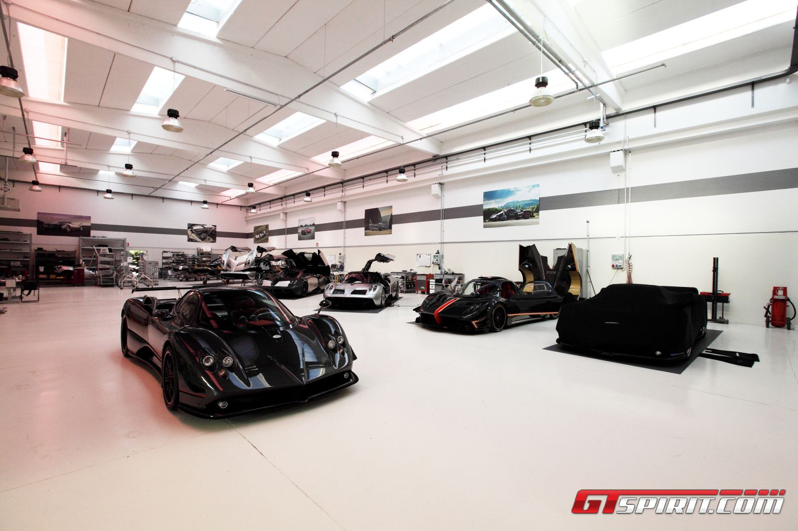 Exclusive: Preview of the New Pagani Factory - GTspirit