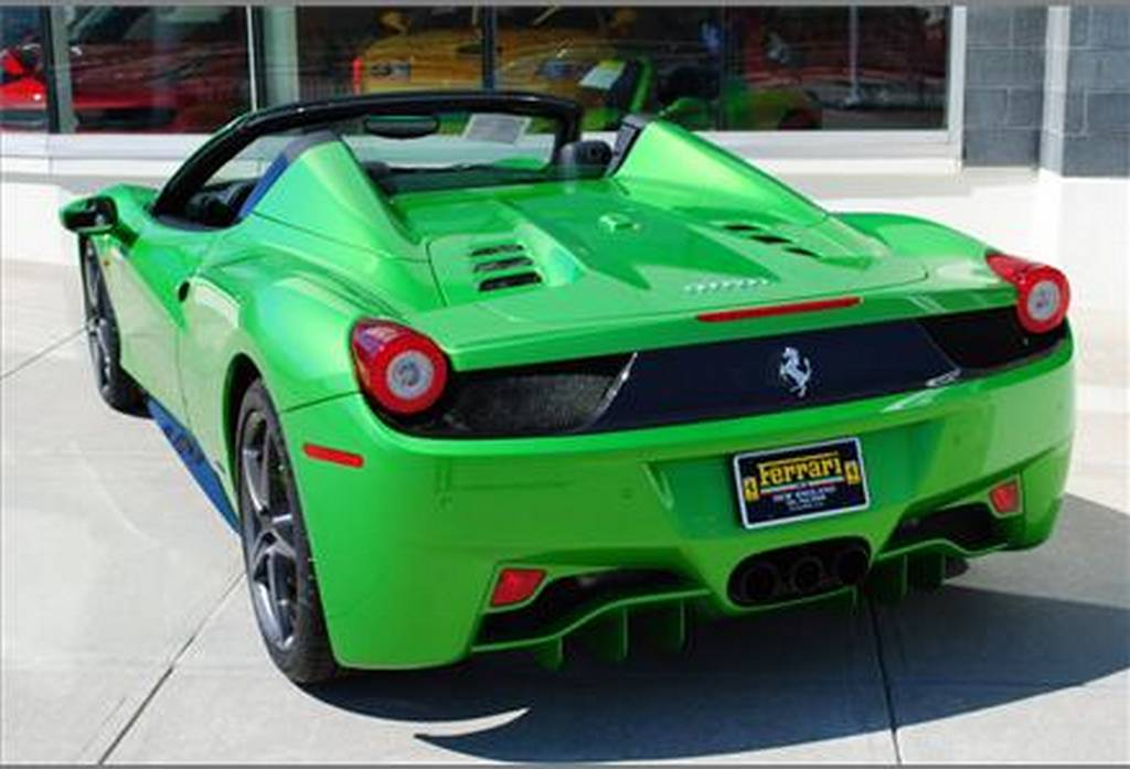 For Sale: Verde Kers Lucido Green 2012 Ferrari 458 Italia