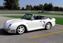 For Sale: World's Only Porsche 959 Speedster