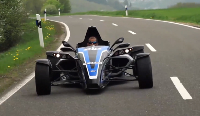 Video: Chris Harris Drives Formula Ford Ecoboost at the 'Ring