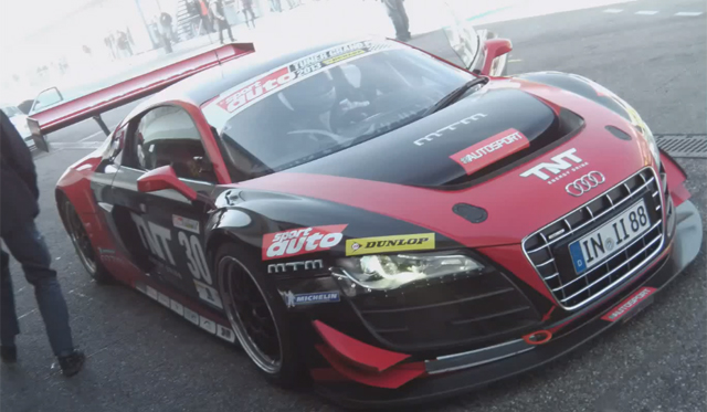 video mtm audi r8 at tuner grand prix gtspirit. Black Bedroom Furniture Sets. Home Design Ideas