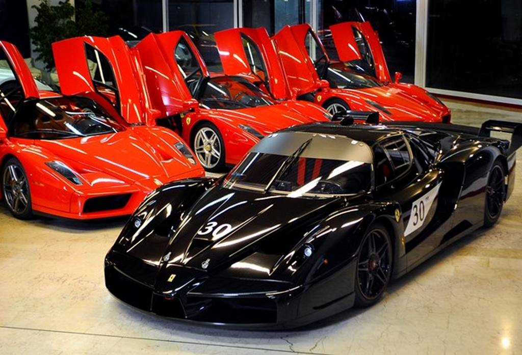 For Sale: Michael Schumacheru0027s Black Ferrari FXX