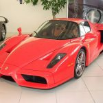 For Sale: Michael Schumacher's red Ferrari Enzo