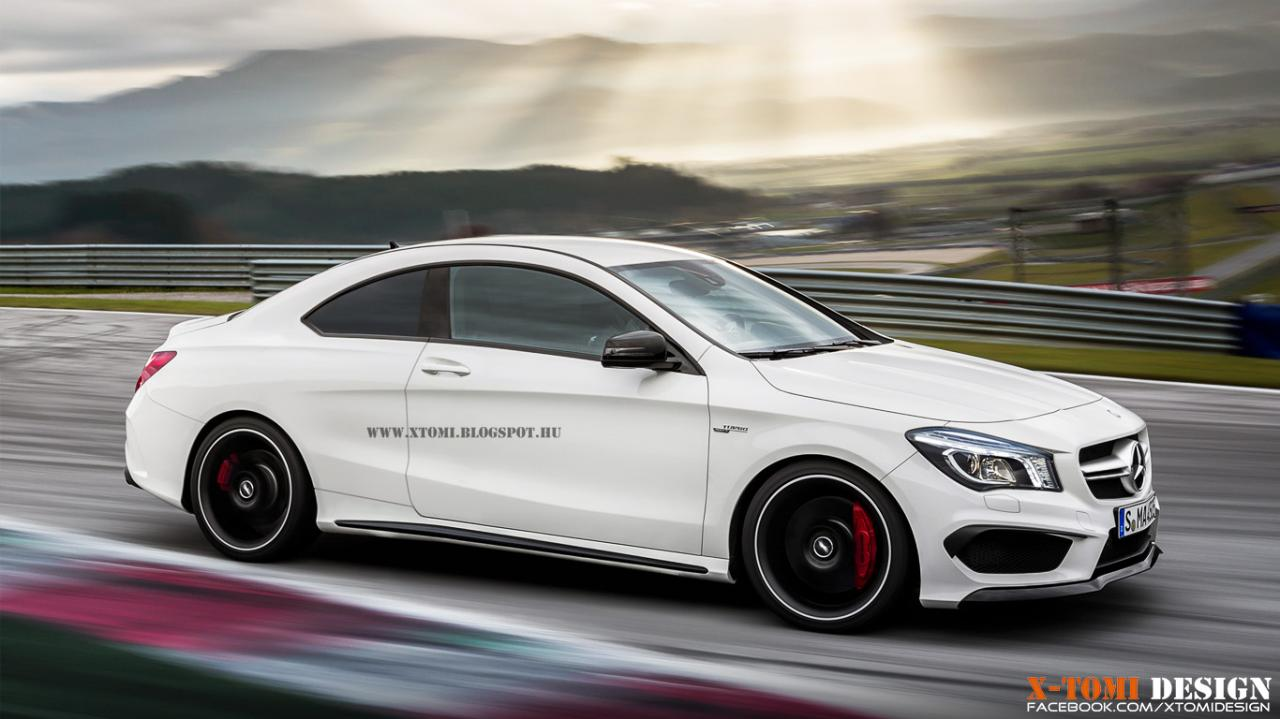 Render 2014 mercedes benz cla 45 amg coupe gtspirit for Mercedes benz amg cla 45
