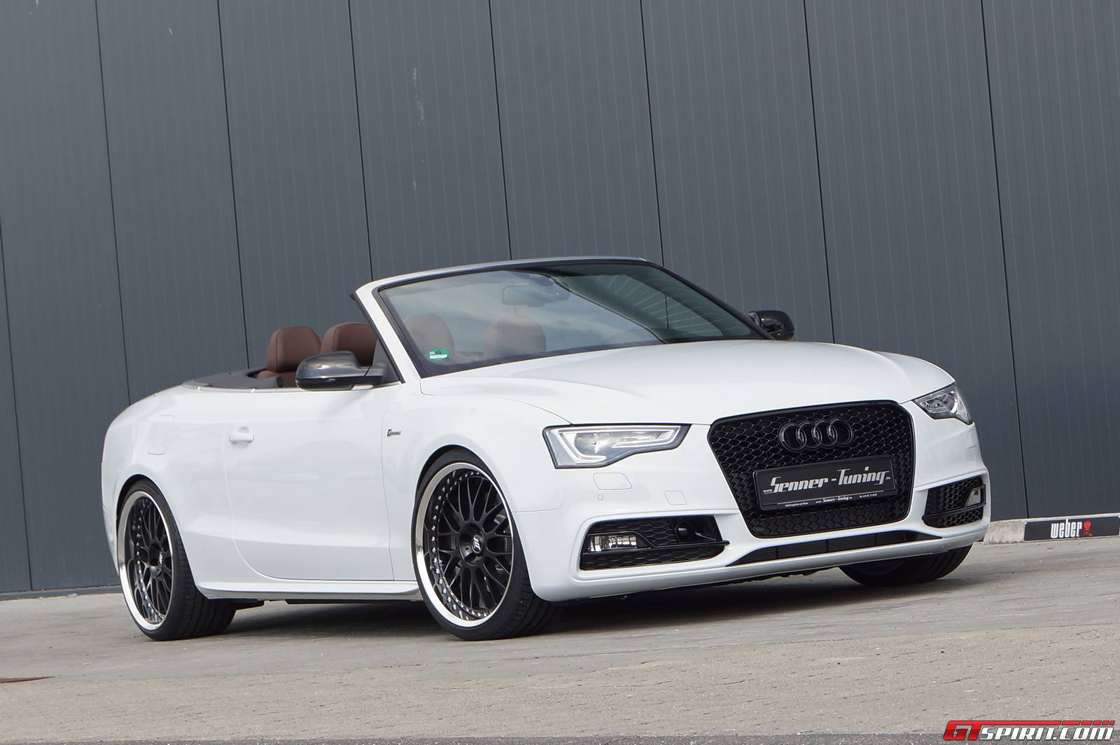 Official: Glacier White Metallic Audi S5 Cabriolet by Senner Tuning