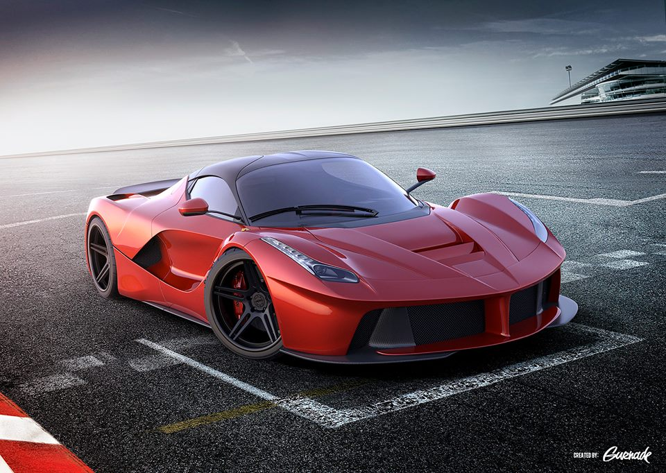Render: 2014 Ferrari LaFerrari With ADV.1 Wheels