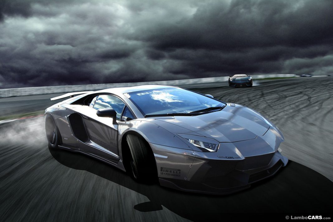 Render: Lamborghini Aventador LB-R by LB Performance