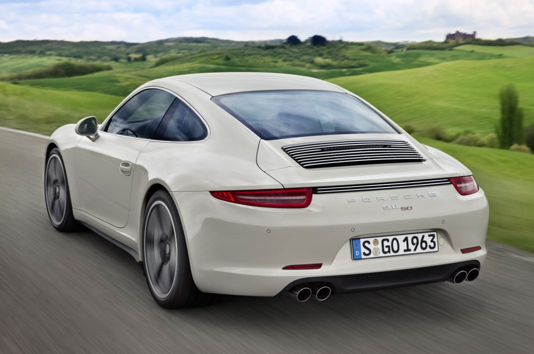 Official: 2014 Porsche 911 50 Years Edition