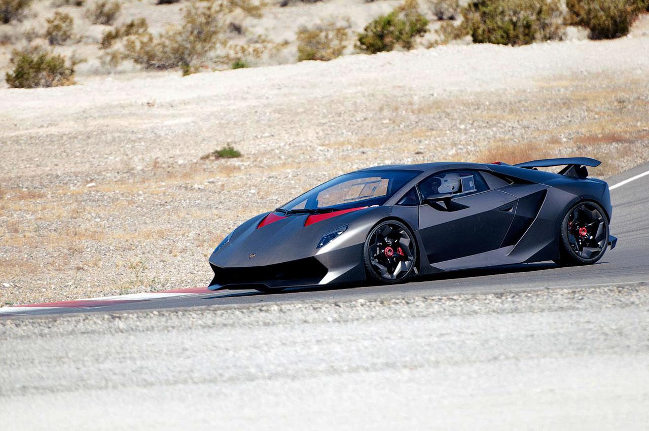 Lamborghini Sesto Elemento Hits The Track In Las Vegas Gtspirit