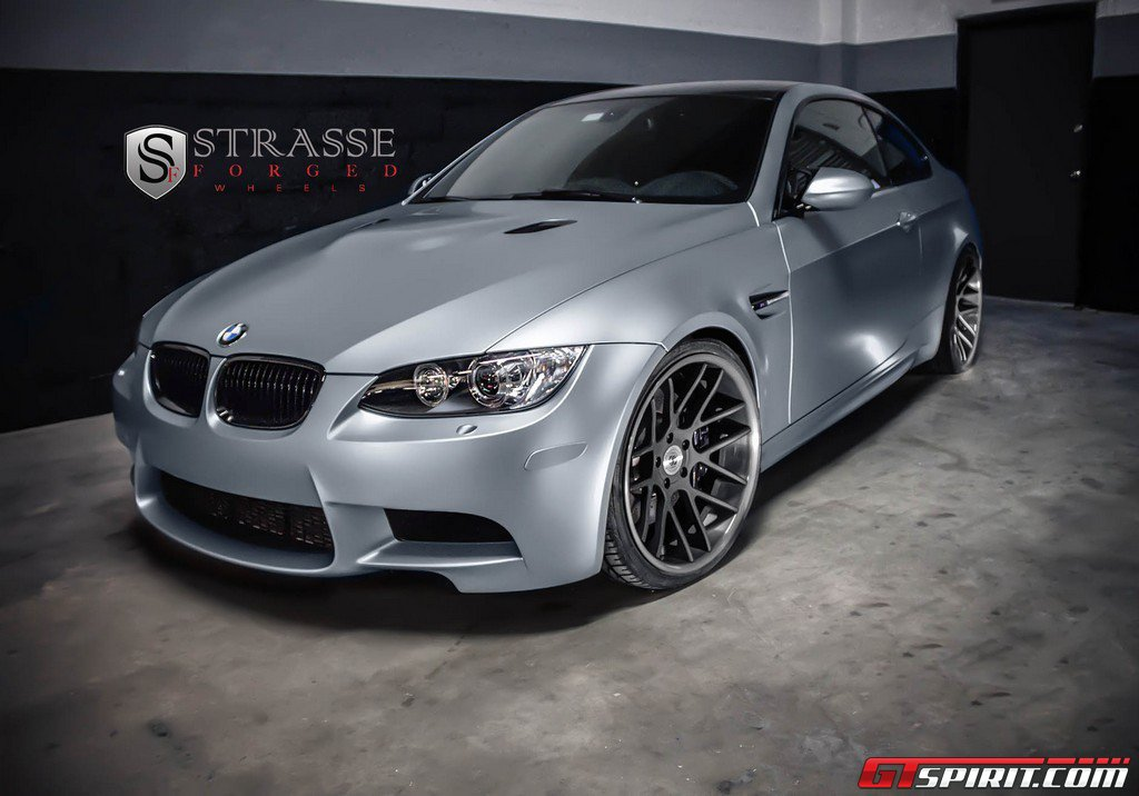 2013 Frozen Silver Performance Edition BMW M3 with Strasse Forged