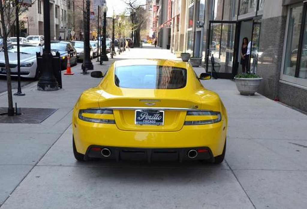 For Sale: Unique Yellow Aston Martin DBS - GTspirit