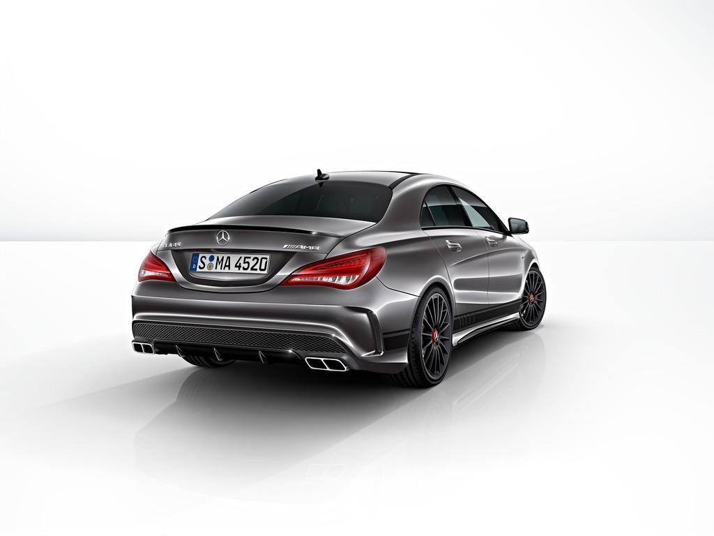 Official 2014 mercedes benz cla 45 amg edition 1 gtspirit for 2014 mercedes benz cla 45