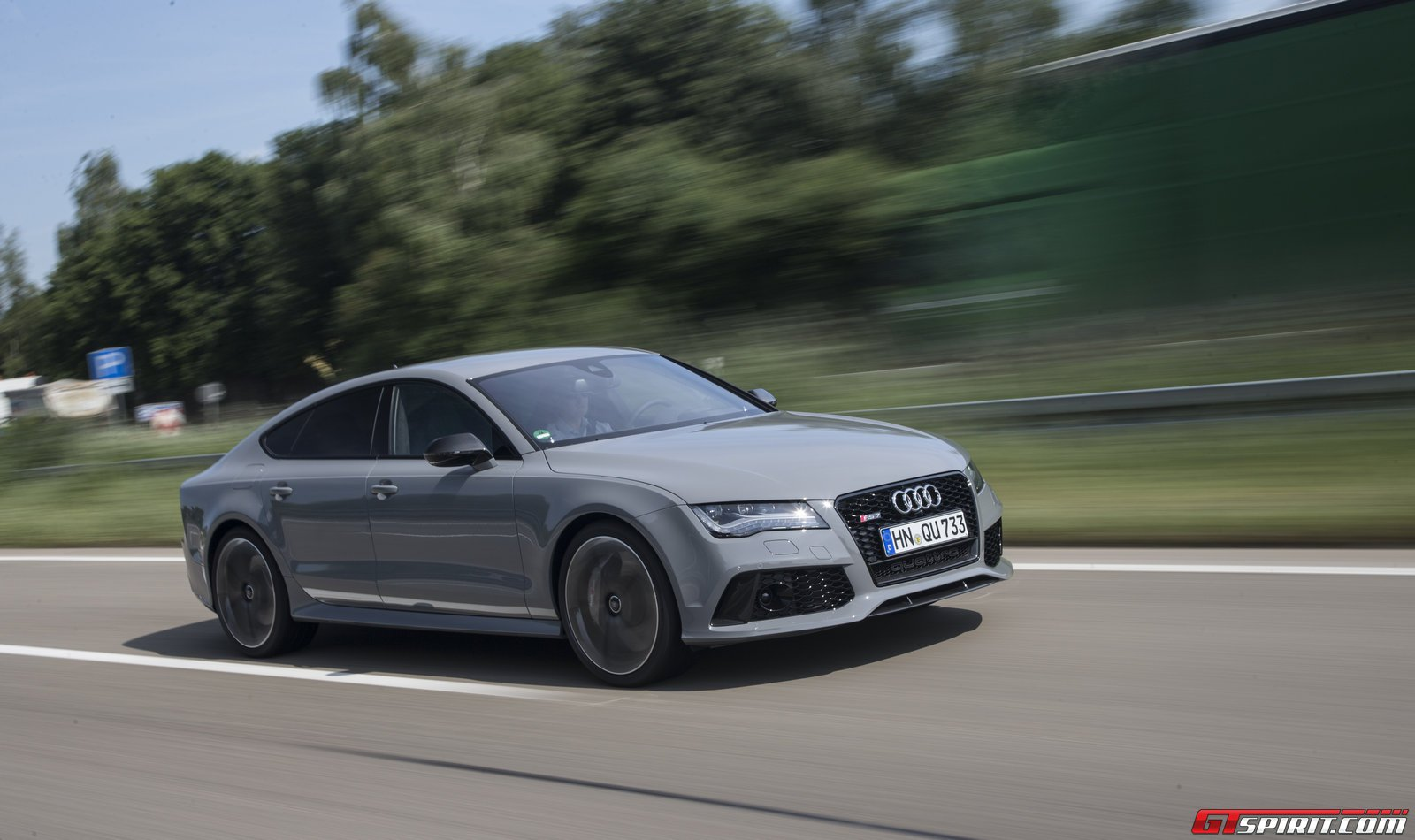 Road Test 2014 Audi Rs7 Review 2017 Sportback With A Red Colour Suspension