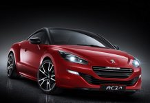 First Official Photos of 2014 Peugeot RCZ R Released