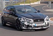 Spyshots: 550hp Jaguar XFR-S Sportbrake Testing