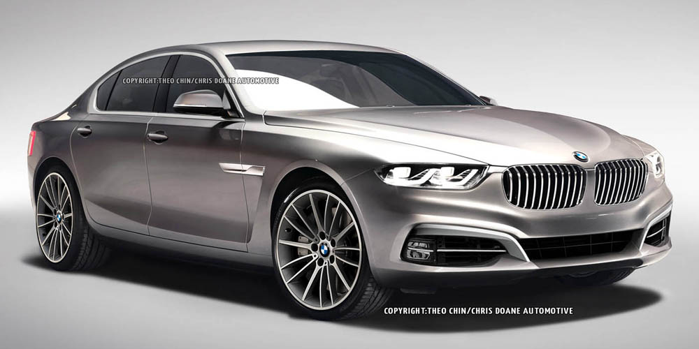 Render: BMW 8-Series Gran Coupe by Theophilus Chin - GTspirit