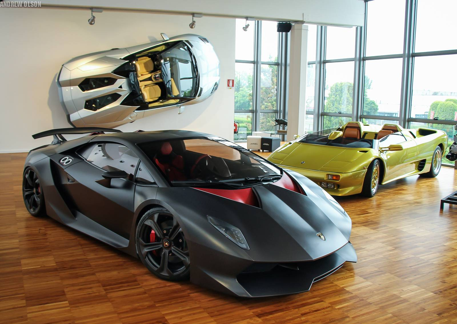 Photo Of The Day Lamborghini Sesto Elemento In The Lamborghini Museum Gtspirit