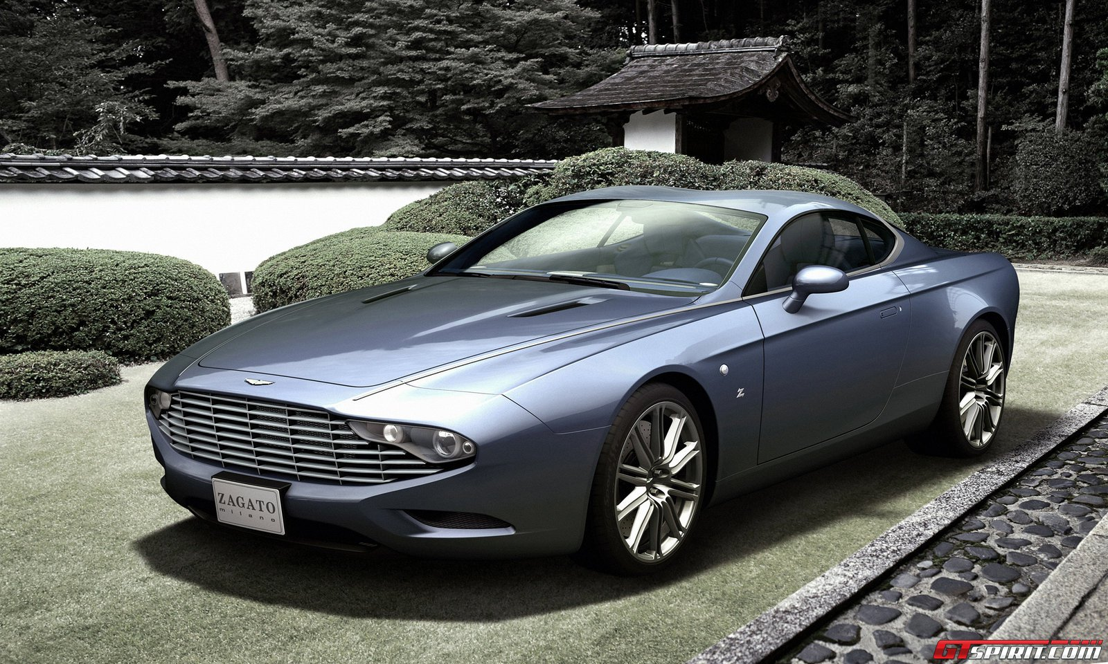 Official Aston Martin Dbs Coupe Centennial Zagato Gtspirit