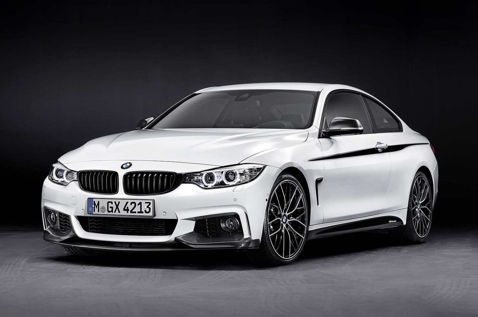 Official: BMW 4-Series Coupe with M-Performance Parts ...