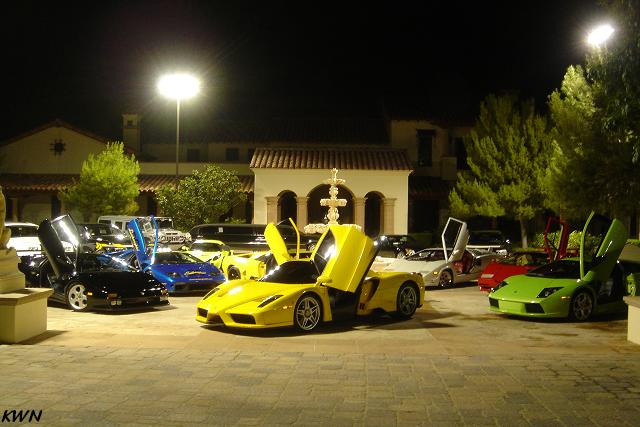 Gallery Impressive Las Vegas Supercar Garage