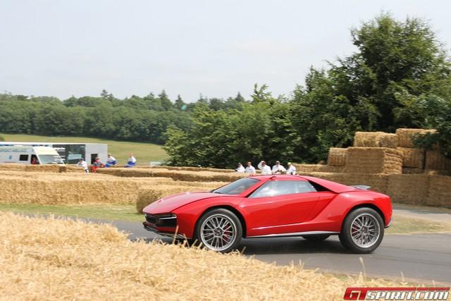 Goodwood 2013 Italdesign Giugiaro Parcour Concept Crash