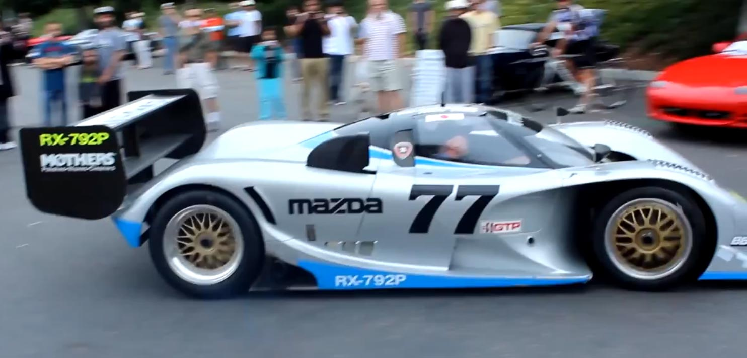 Video: Brutal Sound from Mazda RX-792P Race Car at Cars and Coffee