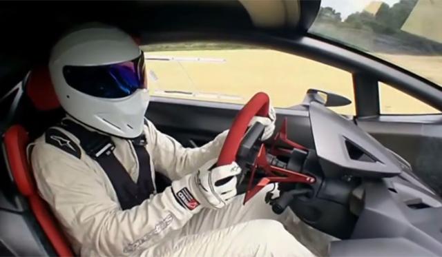 Video The Stig Spins Lamborghini Sesto Elemento On Top Gear Gtspirit