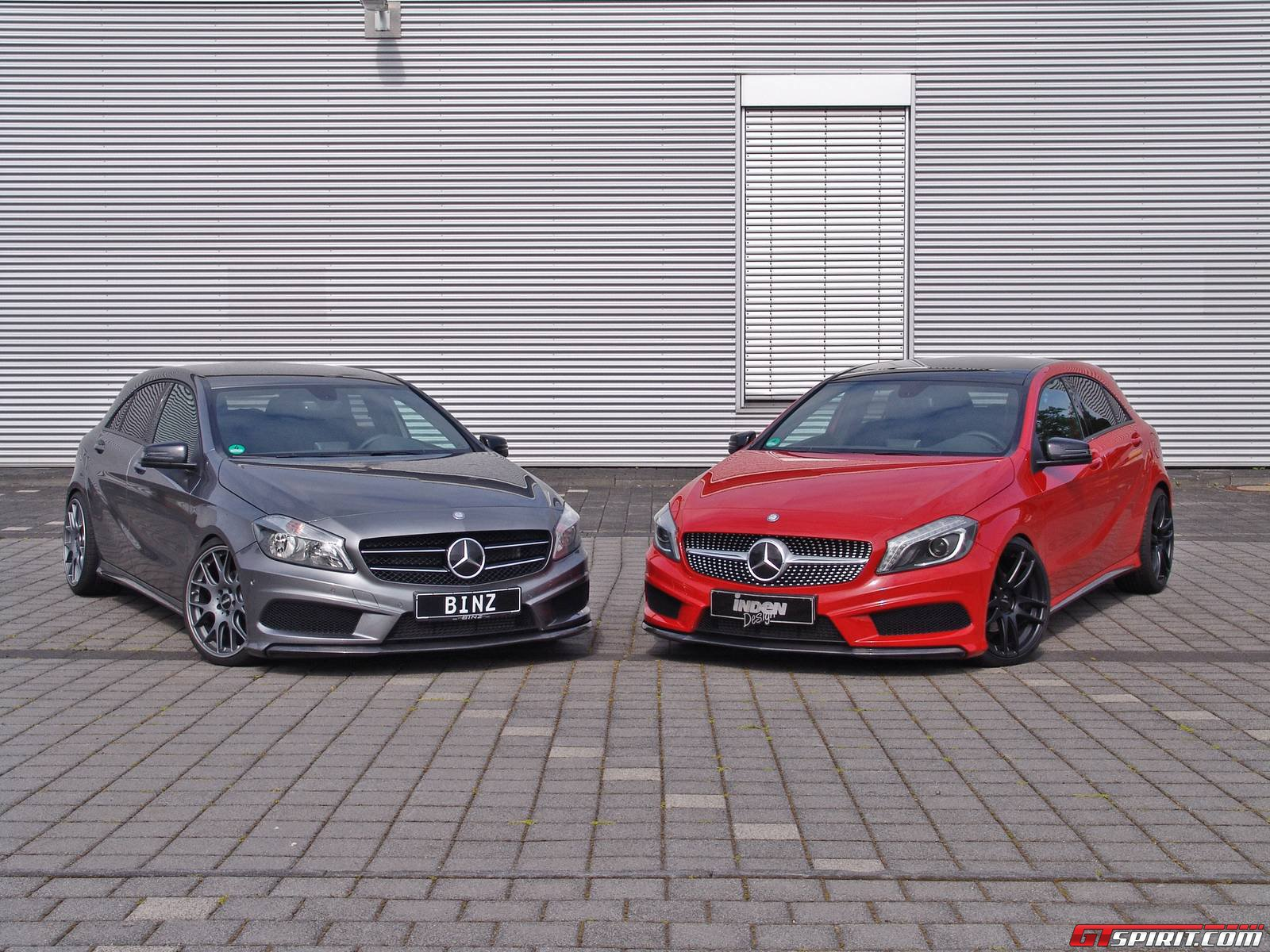 official mercedes benz a class with amg package by inden design and binz sport gtspirit. Black Bedroom Furniture Sets. Home Design Ideas