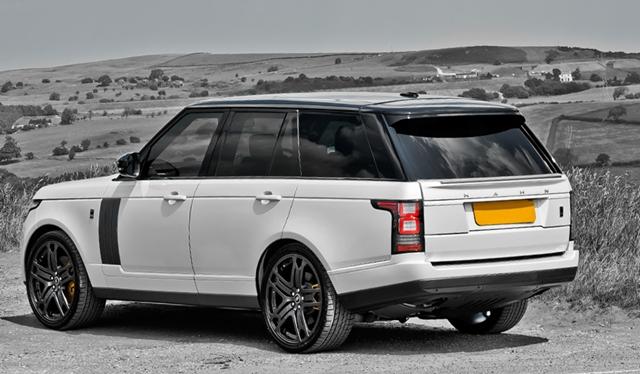 Official 2017 Range Rover 4 Sdv8 Vogue Signature Edition By Kahn Design