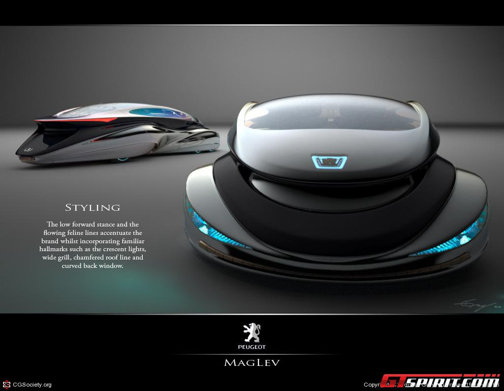 Official Maglev Racer Electromagnetic Supercar Design