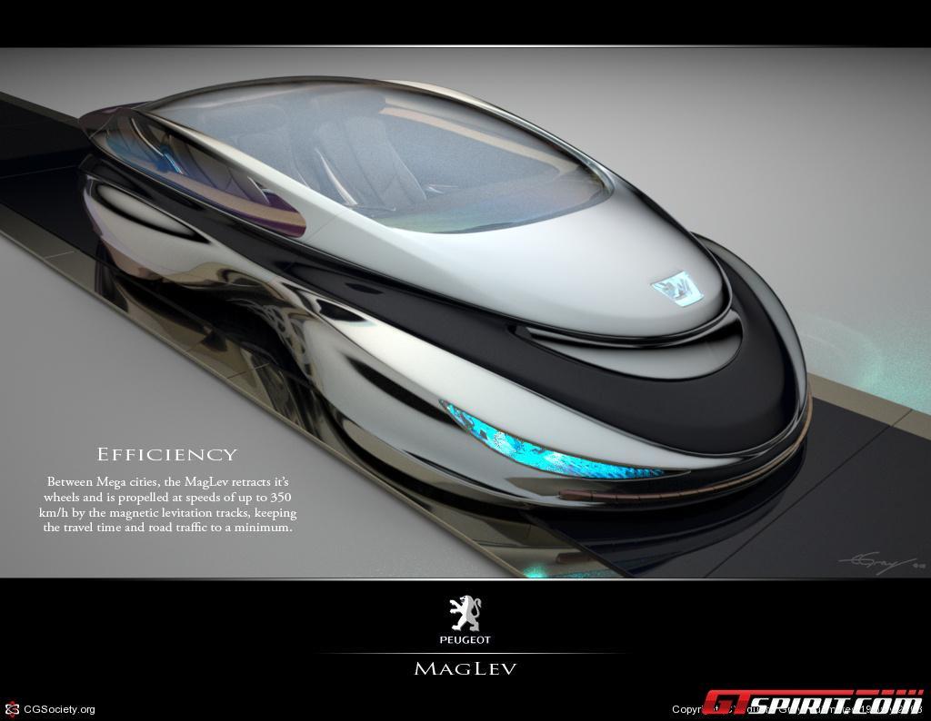 Official: MagLev Racer Electromagnetic Supercar Design Study ...