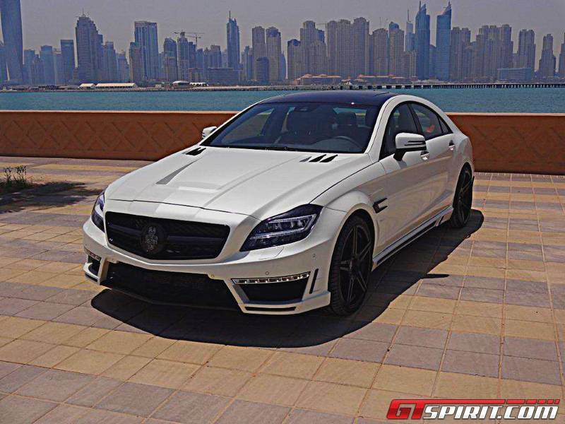 Mercedes Benz Cls500 Gsc By Spectrum Car Design Gtspirit