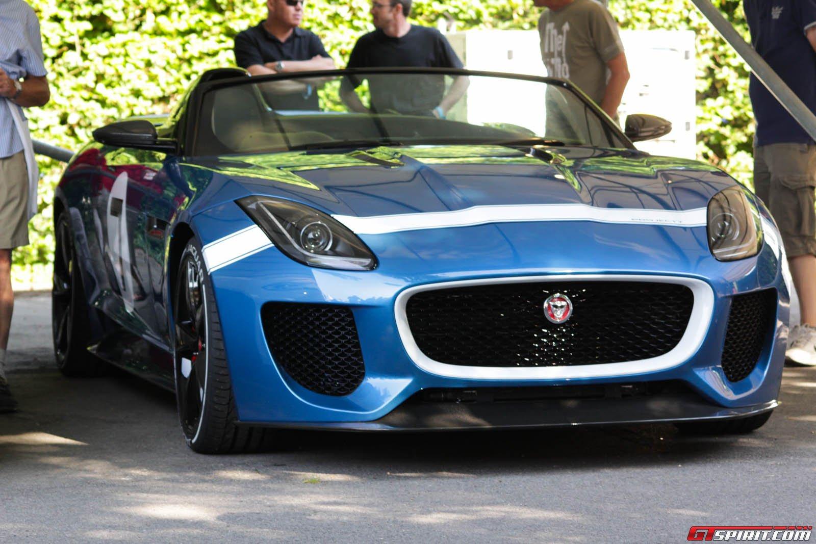 Jaguar F Type Project 7 Speedster