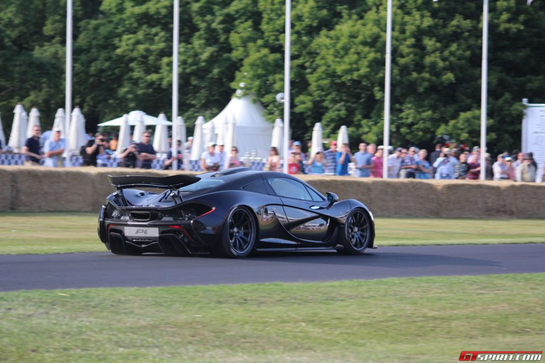 Video: Jenson Button Drives McLaren P1 at Goodwood