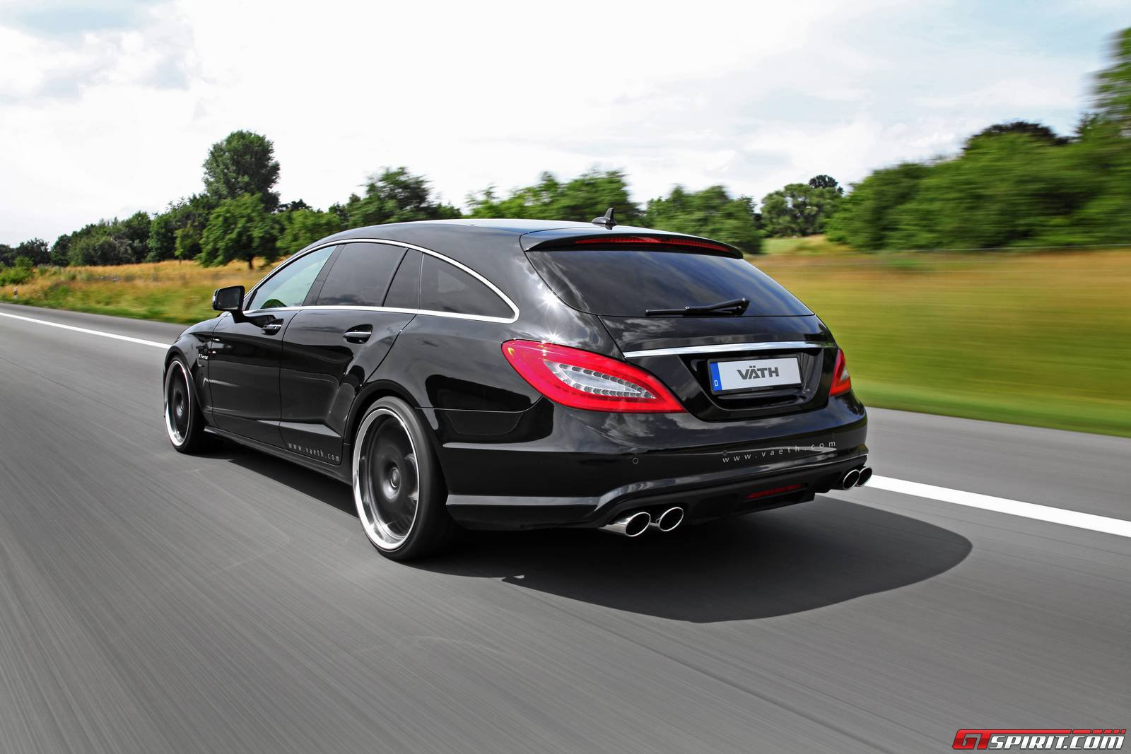 official 846hp mercedes benz cls 63 amg shooting brake by vath gtspirit. Black Bedroom Furniture Sets. Home Design Ideas