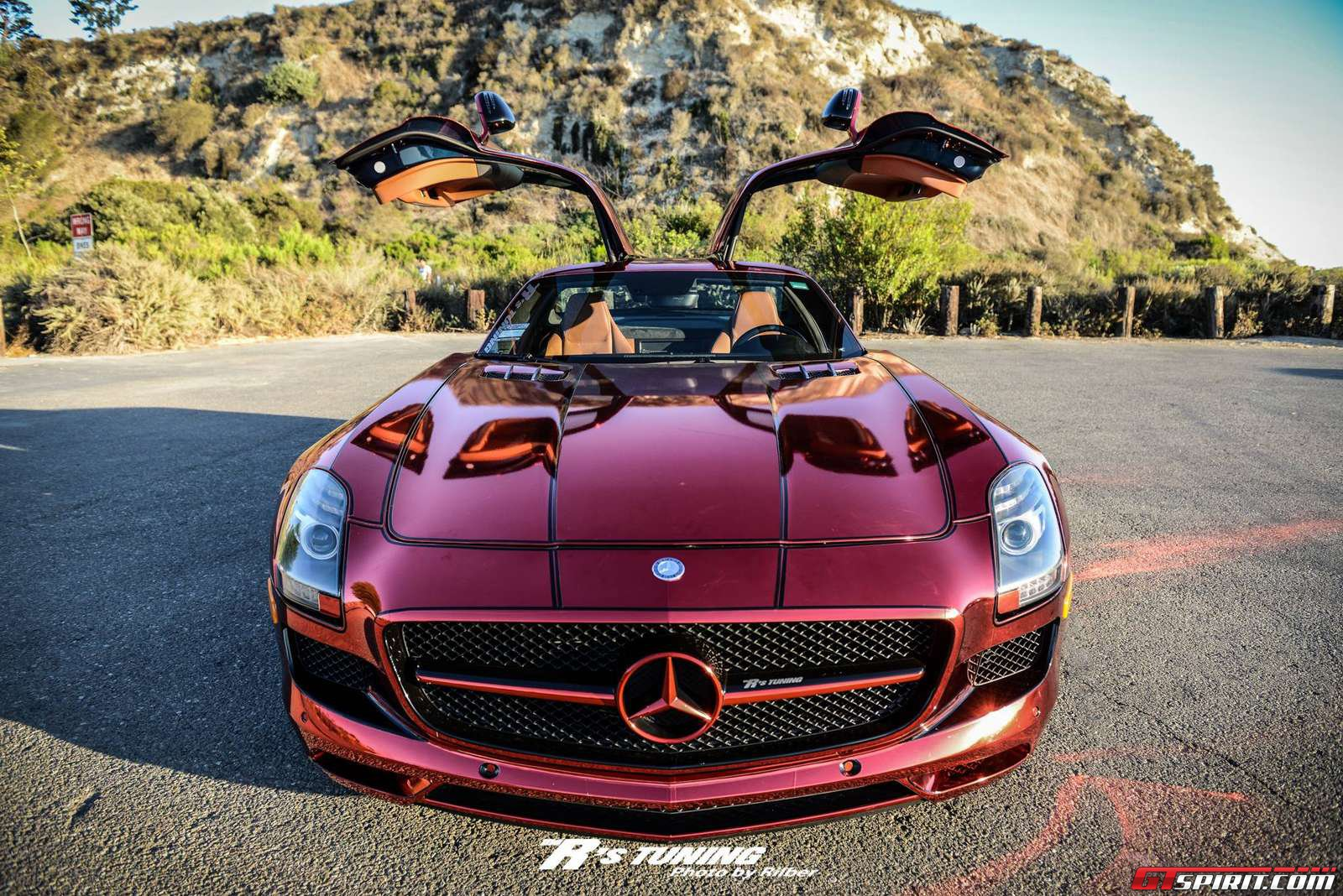 Iron man mercedes benz sls amg by the r 39 s tuning gtspirit for Mercedes benz iron