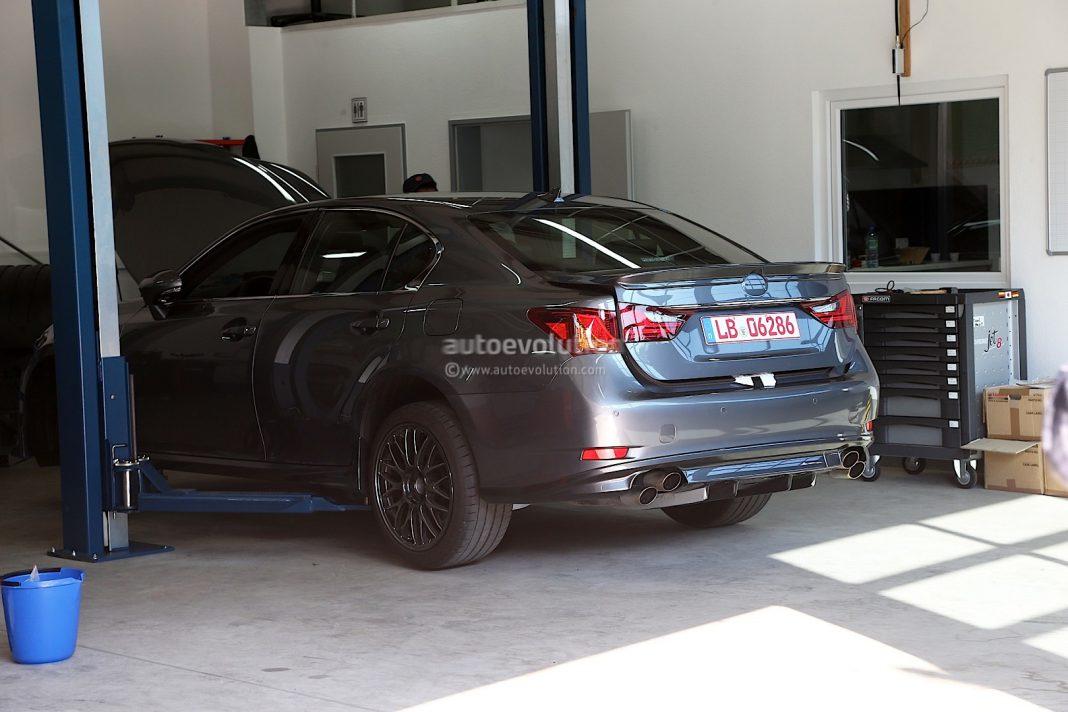 Spyshots: 2014 Lexus GS F Spotted in Germany